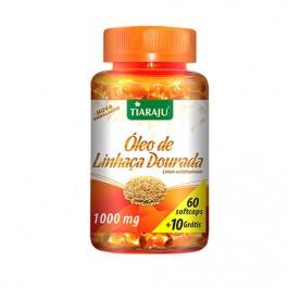 Óleo de Linhaça Dourada - Emagrecimento, Celulite, Pele, Colesterol, Menopausa