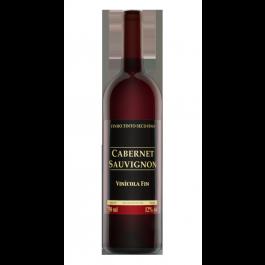 Garrafa de Vinho Tinto Fino Cabernet Souvignon 750 ml Fin