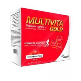 Multivita Gold Multivitamínico - Estimulante Físico e Mental