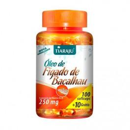 Óleo de Fígado de Bacalhau - Suplemento de Omega3 Vitaminas A e D + Frete Grátis
