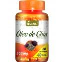 Óleo de Chia - 60 + 10 cápsulas GRÁTIS (500mg) Tiaraju + Frete Grátis*