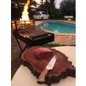 Churrasqueira Parrilla Portátil para uso de Lenha ou Carvão com Frete Grátis*
