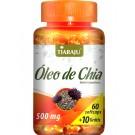 Óleo de Chia - 60 + 10 cápsulas GRÁTIS (500mg) Tiaraju