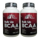 BCAA Hipertrofia Muscular - Bulk Up BCAA 800 mg ( 2x100 tabletes)