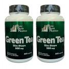 Chá Verde 500 mg 200 Cápsulas - Green Tea Slim Shape 2 Un + Frete Grátis