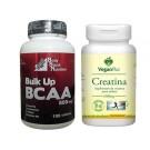 BCAA + Creatina - Hipertrofia Muscular + FRETE GRÁTIS
